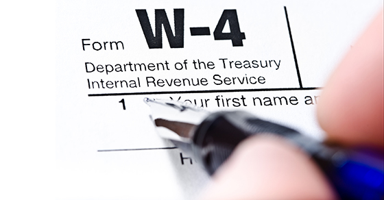 Do your employees a favor and remind them about their W-4s